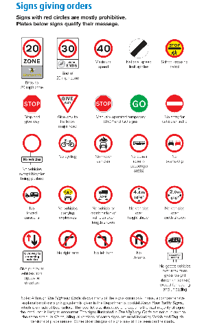 FREE G1 Practice Test: Road Signs (100 Questions) 2019